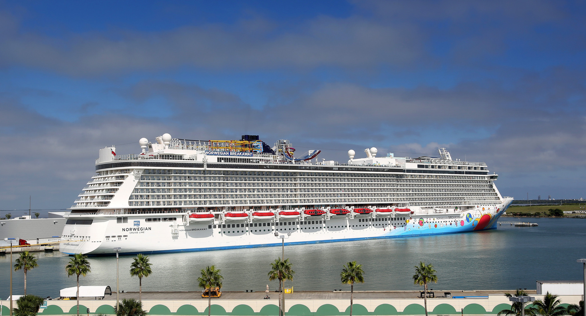 Norwegian Breakaway Makes First Call At Port Canaveral Orlando Sentinel
