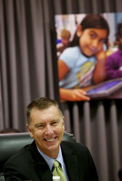 L.A. schools Supt. John Deasy has proposed extending the rollout of a program to provide iPads to every student in the nation's second-largest school system.
