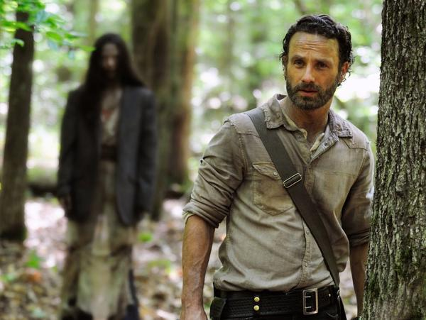 "Andrew Lincoln in AMC's zombie hit ""The Walking Dead."""