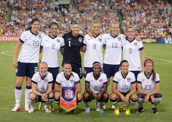 The U.S. Women's National Team announced it will play a match Nov. 10 against rival Brazil at the Florida Citrus Bowl.