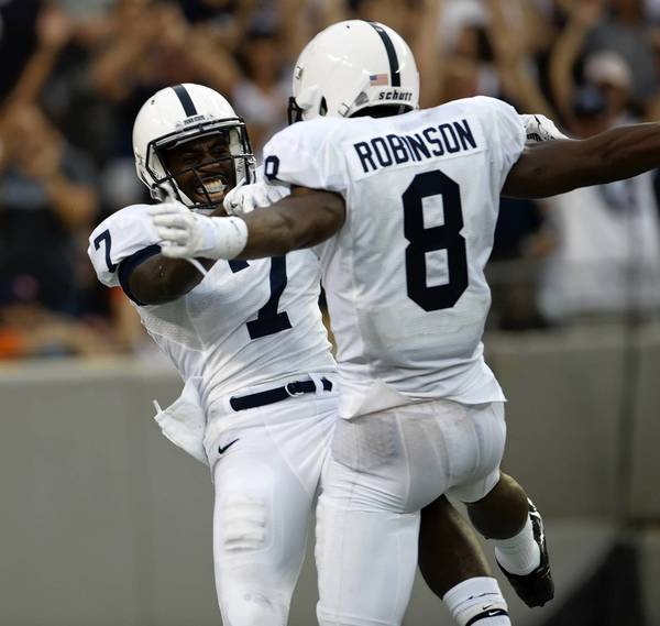 Penn state football team learning under fire while building for the