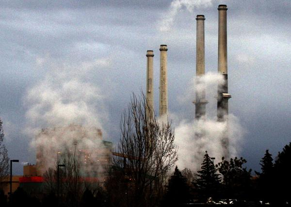 A coal-fired power plant in Colstrip, Mont. The Supreme Court has agreed to hear a utility industry challenge to the Obama administration's ability to impose environmental regulations to limit greenhouse gases from stationary sources such as power plants, factories and refineries.