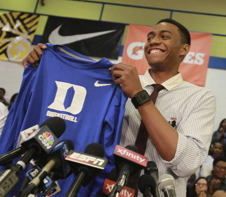 Freshman Jabari Parker may be ACC favorite Duke's best player.