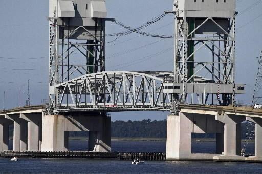 James River Bridge grid deck