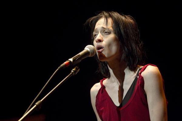 Fiona Apple performs at Newmark Theater in Portland, Oregon.
