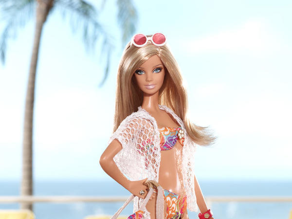 Barbie reversed four quarters of declines to post positive sales in the third quarter as Mattel heads into the holiday season.