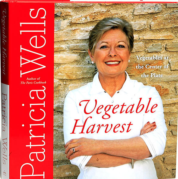 Acclaimed cookbook author and teacher Patricia Wells will appear at Alliance Francaise on Oct. 25 for a lecture and book signing.