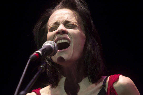Fiona Apple performs at Newmark Theater on Oct. 3 in Portland, Ore.