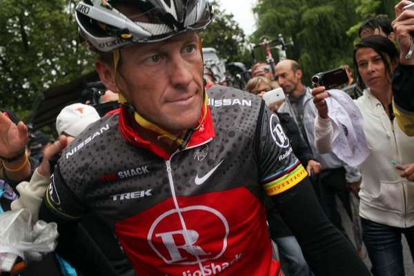 Lance Armstrong will be the subject of two upcoming movies and a documentary
