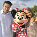 William Baldwin and Chynna Phillips at Epcot