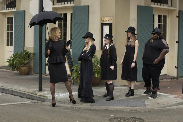 "A scene from ""American Horror Story: Coven."""