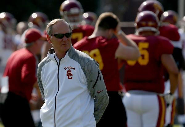 USC Athletic Director Pat Haden is one of the members of the College Football Playoff selection committee.