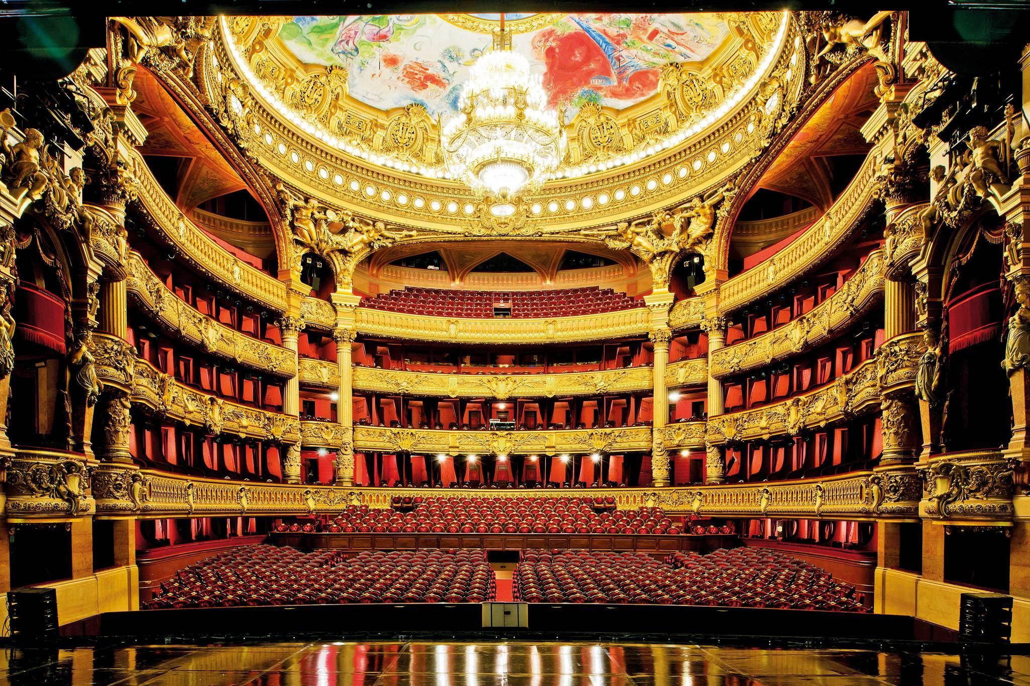 Palais Garnier Paris La Times