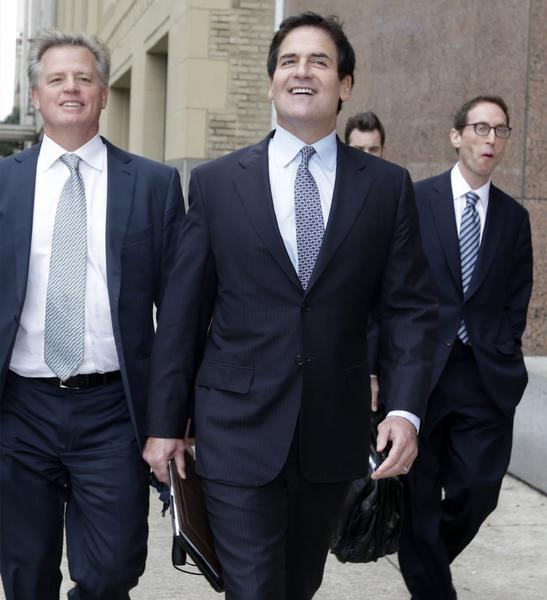 Billionaire Mark Cuban had been accused by the Securities and Exchange Commission of using non-public information about a Canadian Internet company to make trades that helped him avoid about $750,000 in losses.