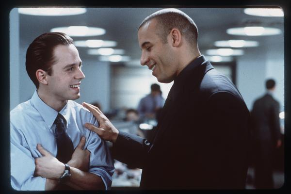 "Giovanni Ribisi and Vin Diesel starred in ""Boiler Room,"" a 2000 movie about disreputable stockbrokers."