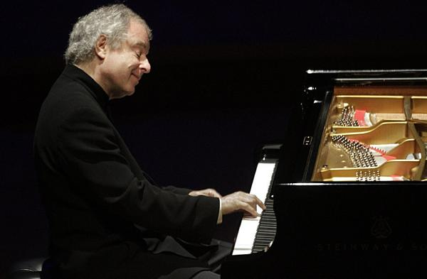 """Andrs Schiff performed Bach's """"English"""" Suites at Walt Disney Concert Hall on Oct. 9."""