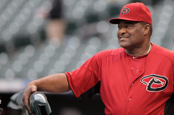 Don Baylor was the hitting coach for Arizona last season.