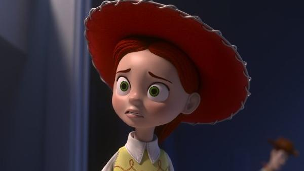 """Jessie the cowgirl (Joan Cusack) must face her fears in the ABC Halloween special """"Toy Story of Terror."""""""