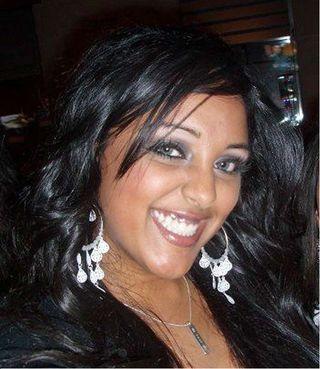 Karishma Dhanak and her father were killed.