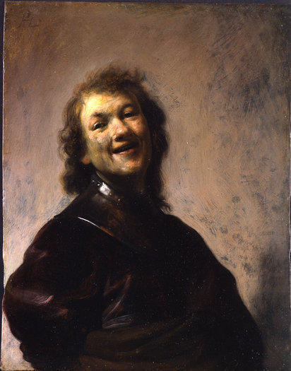 """Rembrandt Laughing,"" a self-portrait by Rembrandt van Rijn, has been cleared for export to L.A. and the Getty Museum."