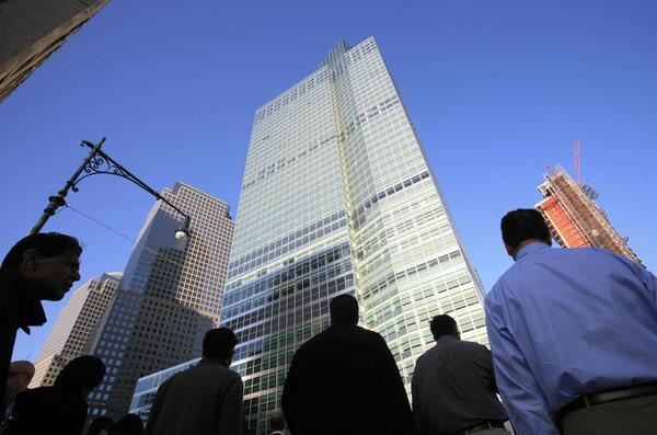 The Goldman Sachs headquarters in New York.