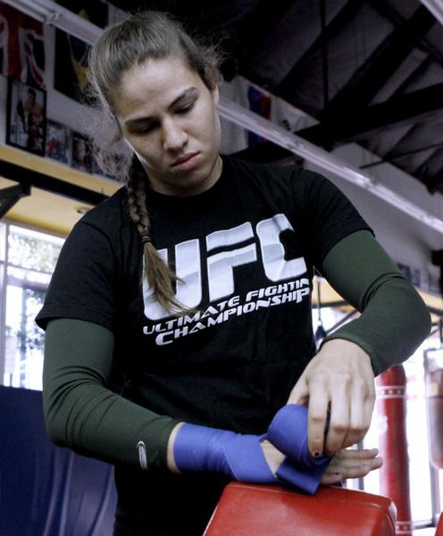 "ARCHIVE PHOTO: Marina Shafir had something to teach on ""The Ultimate Fighter."""