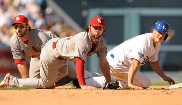 Matt Carpenter, Pete Kozma, Mark Ellis