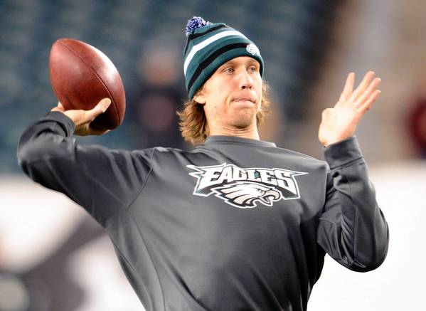 Philadelphia Eagles QB Nick Foles is the NFC offensive player of the week.