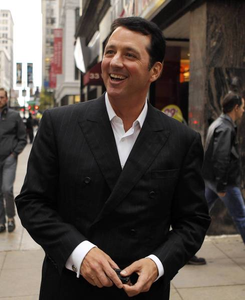 Kevin Trudeau leaves the Dirksen U.S. Courthouse in Chicago on Wednesday.