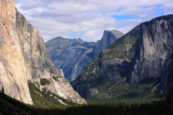 Yosemite National Park reopened Wednesday night after Congress reached a deal to end the government shutdown.