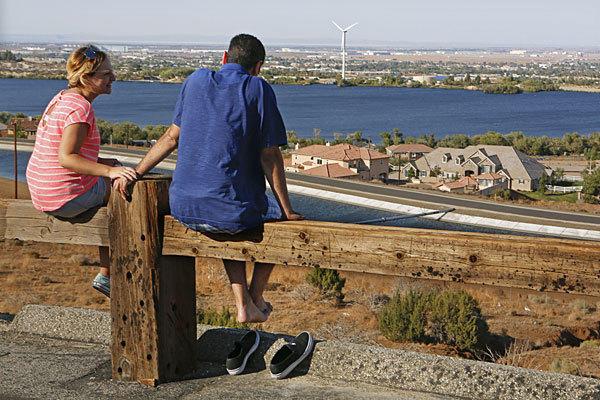 Vista Point above Palmdale.