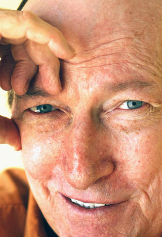 Character actor Ed Lauter, shown in 2012, passed away on Wednesday.