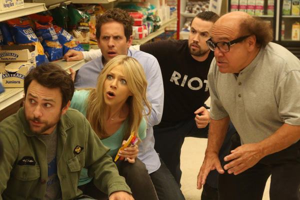 Charlie Day, Kaitlin Olson, Glenn Howerton, Rob McElhenney and Danny DeVito are ready to meet you.