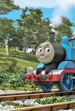 Thomas the Tank Engine, known as a true blue engine friend, and his friends and colleagues show the value of cooperation, work and good manners.