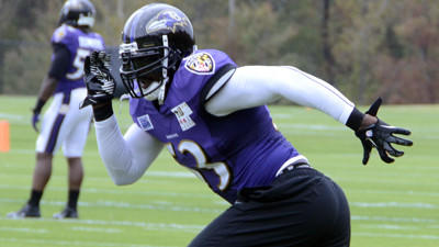 Ravens linebacker Jameel McClain makes emotional return to prac…
