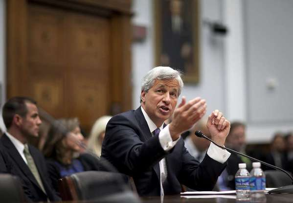 "Jamie Dimon of JPMorgan Chase. One of the ""people who matter"" wanted him out."