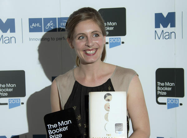 "Eleanor Catton after being awarded the Man Booker Prize for her novel ""The Luminaries"" in London on Tuesday."