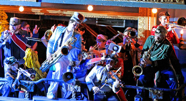 Mucca Pazza will perform at Logan Square Auditorium's Fall Ball.