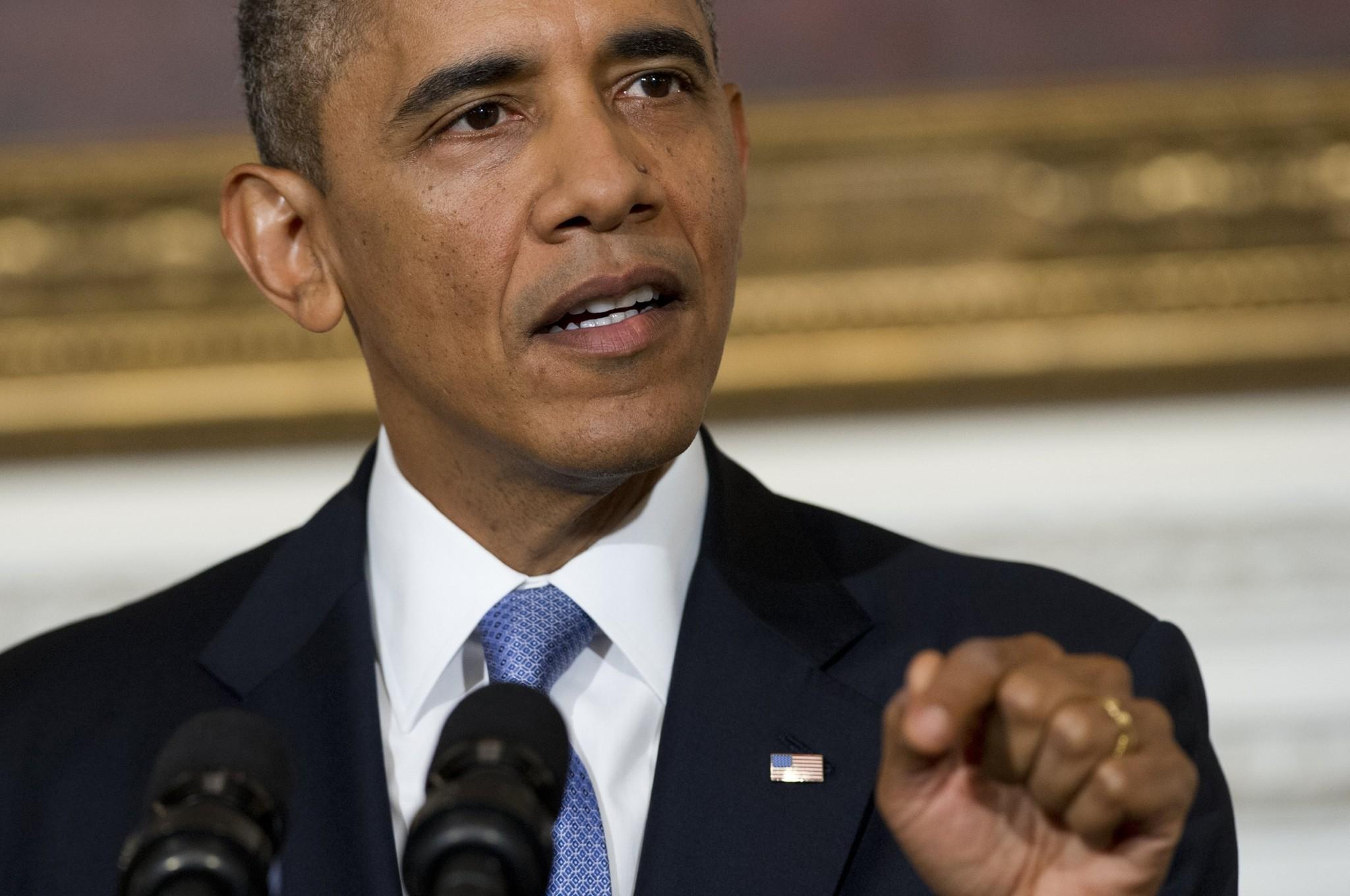 Government Shutdown Obama Obama takes tough tone...