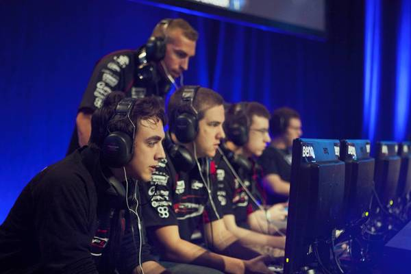 "Major League Gaming team ""Complexity"" competes at the video game ""Call of Duty: Black Ops 2"""