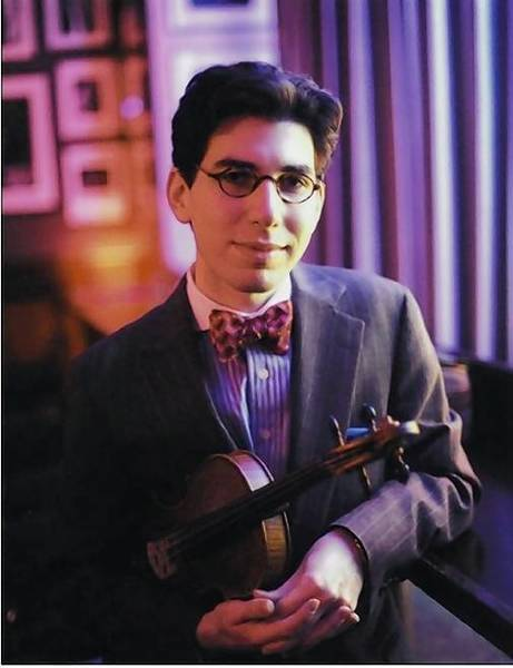 Jazz violinist Aaron Weinstein performs a program of hot jazz and American Songbook classics Friday, Oct. 25, at 8 p.m. at Japanalia Eiko, 11 Whitney St., Hartford.