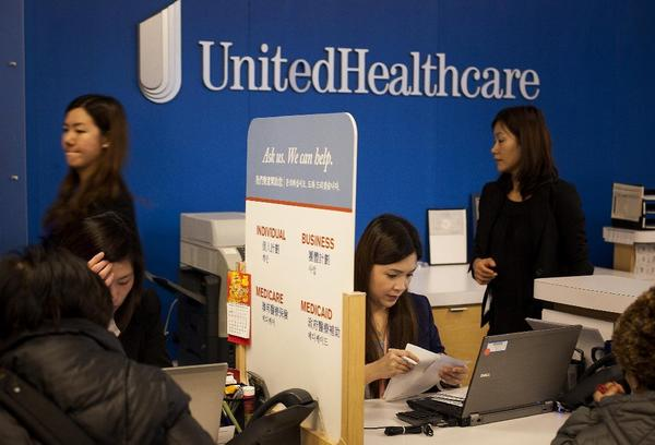 UnitedHealth reports third-quarter results
