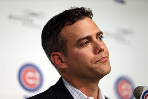 Chicago Cubs President of Player operations Theo Epstein.