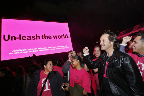 T-Mobile Chief Executive John Legere may have tweeted a clue about Apple's announcement next week.