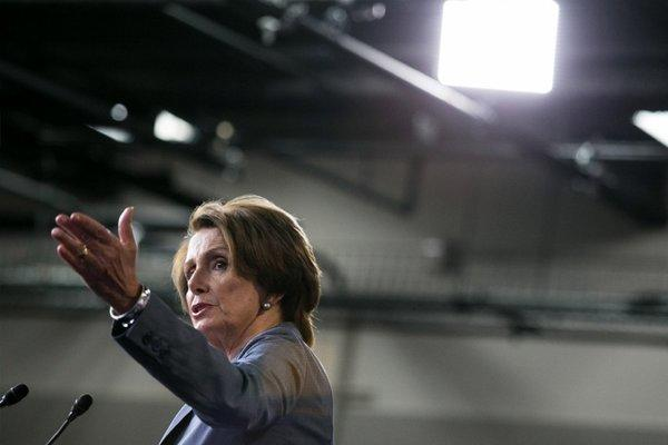 House Minority Leader Nancy Pelosi (D-San Francisco). One of the victors?
