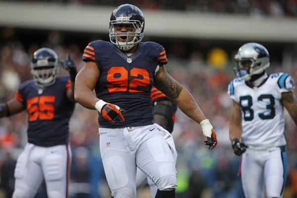 Defensive tackle Stephen Paea is just one of a long list of Bears playing through injury this season.