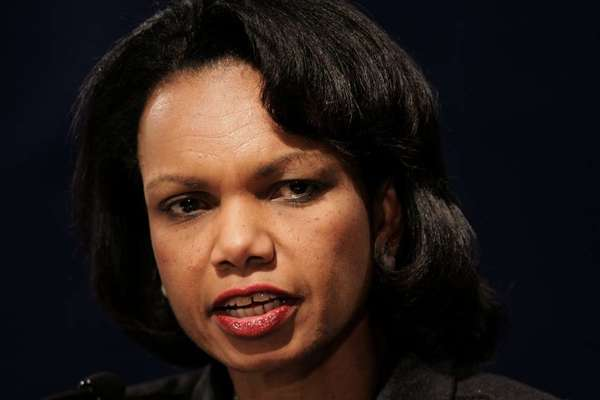 Condoleezza Rice has her reasons for wanting to be on the College Football Playoff committee.