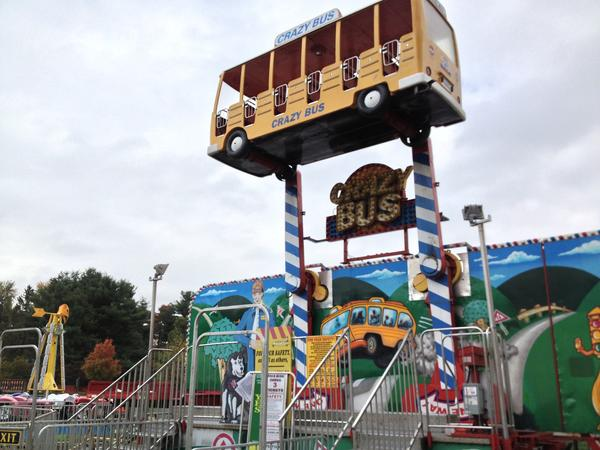 A new midway at the Glastonbury Chamber of Commerce's Apple Harvest Festival promises new thrills for young and young-at-heart.