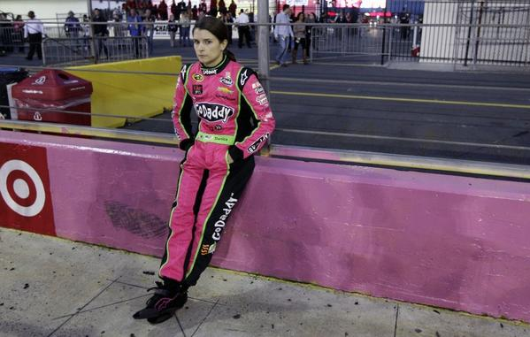 Danica Patrick may have a better chance of winning her first NASCAR race this weekend at Talladega, Ala., than at previous events.