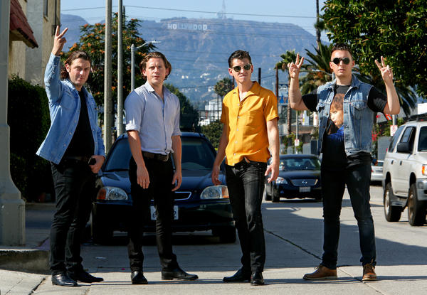 "Arctic Monkeys played ""Jimmy Kimmel Live!"" on Wednesday night, just weeks after the British band -- which recently moved to L.A. -- completed a three-night stand at the Wiltern."